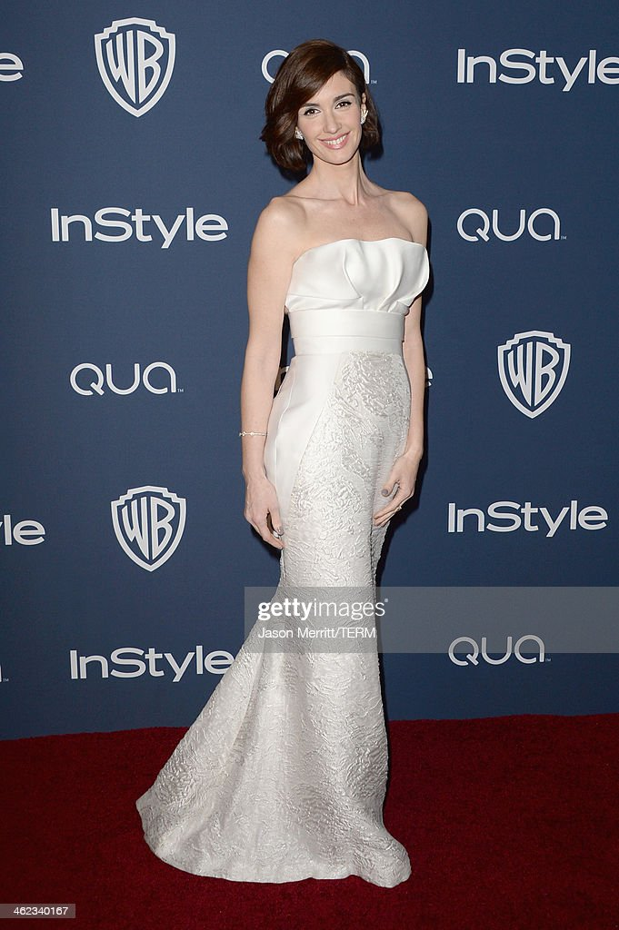 Actress <a gi-track='captionPersonalityLinkClicked' href=/galleries/search?phrase=Paz+Vega&family=editorial&specificpeople=208840 ng-click='$event.stopPropagation()'>Paz Vega</a> attends the 2014 InStyle and Warner Bros. 71st Annual Golden Globe Awards Post-Party on January 12, 2014 in Beverly Hills, California.