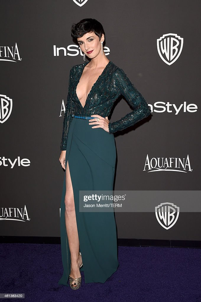 Actress <a gi-track='captionPersonalityLinkClicked' href=/galleries/search?phrase=Paz+Vega&family=editorial&specificpeople=208840 ng-click='$event.stopPropagation()'>Paz Vega</a> attends the 2015 InStyle And Warner Bros. 72nd Annual Golden Globe Awards Post-Party at The Beverly Hilton Hotel on January 11, 2015 in Beverly Hills, California.