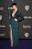 Actress Paz Vega attends the 2015 InStyle And Warner Bros 72nd Annual Golden Globe Awards PostParty at The Beverly Hilton Hotel on January 11 2015 in...
