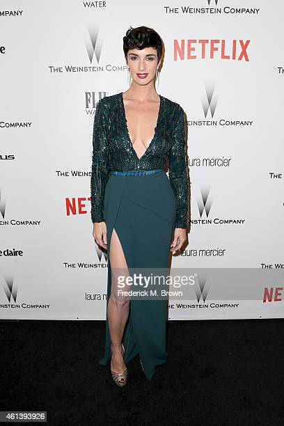 Actress Paz Vega attends the 2015 Weinstein Company and Netflix Golden Globes After Party at Robinsons May Lot on January 11 2015 in Beverly Hills...