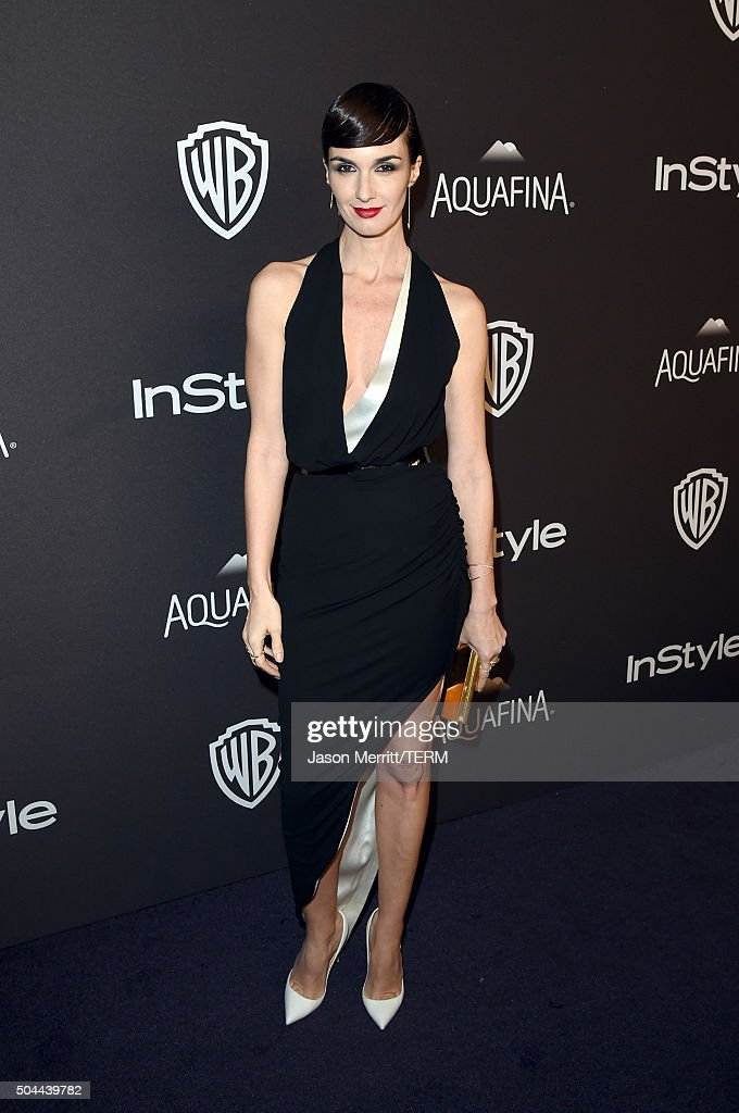 Actress <a gi-track='captionPersonalityLinkClicked' href=/galleries/search?phrase=Paz+Vega&family=editorial&specificpeople=208840 ng-click='$event.stopPropagation()'>Paz Vega</a> attends The 2016 InStyle And Warner Bros. 73rd Annual Golden Globe Awards Post-Party at The Beverly Hilton Hotel on January 10, 2016 in Beverly Hills, California.