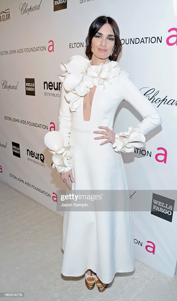 Actress Paz Vega attends the 21st Annual Elton John AIDS Foundation Academy Awards Viewing Party at West Hollywood Park on February 24, 2013 in West Hollywood, California.