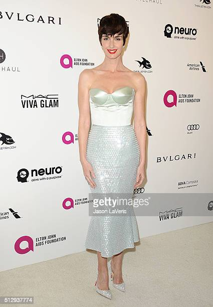 Actress Paz Vega attends the 24th annual Elton John AIDS Foundation's Oscar viewing party on February 28 2016 in West Hollywood California
