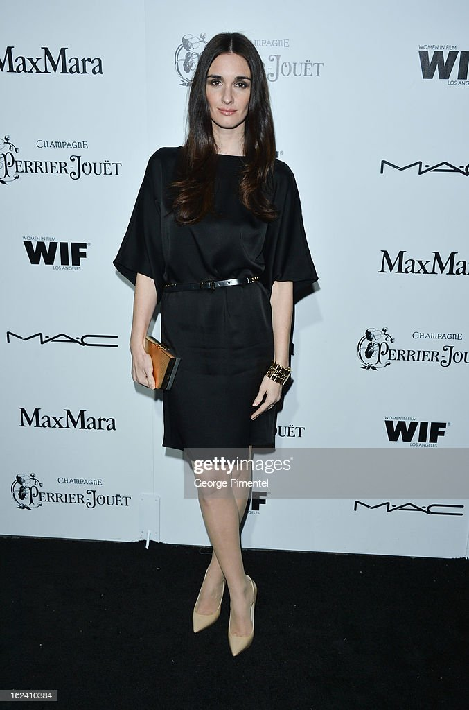Actress Paz Vega attends the 6th Annual Women In Film Pre-Oscar Party hosted by Perrier Jouet, MAC Cosmetics and MaxMara at Fig & Olive on February 22, 2013 in Los Angeles, California.