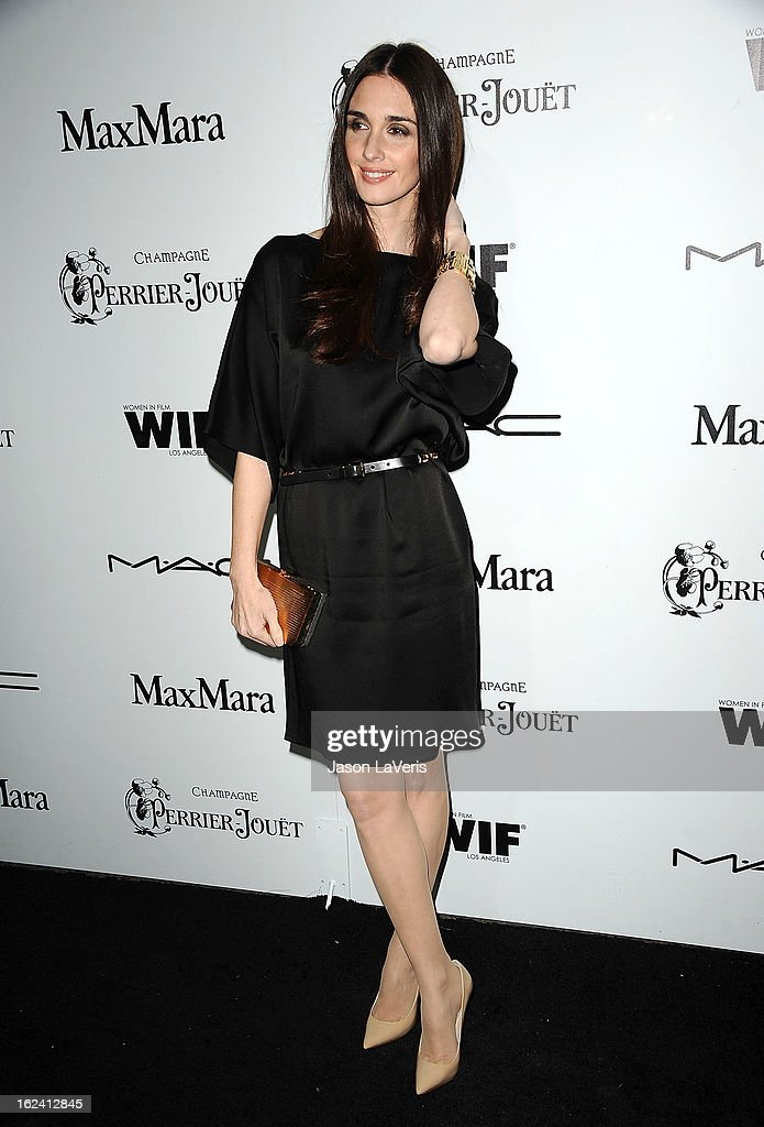 Actress Paz Vega attends the 6th annual Women In Film pre-Oscar cocktail party at Fig & Olive Melrose Place on February 22, 2013 in West Hollywood, California.