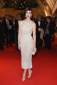 Actress Paz Vega attends the attends the Opening Ceremony Dinner at the 67th Annual Cannes Film Festival on May 14 2014 in Cannes France