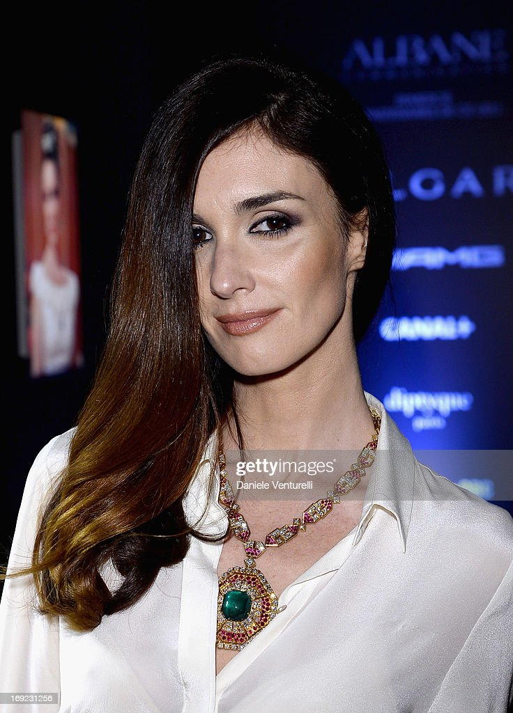 Actress Paz Vega attends the 'Cleopatra' cocktail hosted by Bulgari during The 66th Annual Cannes Film Festival at JW Marriott on May 21, 2013 in Cannes, France.