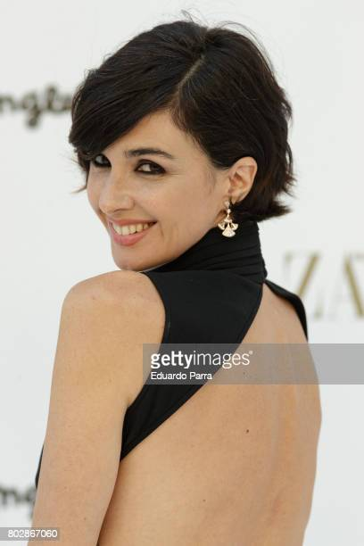 Actress Paz Vega attends the 'Harper's Bazaar summer party' photocall at Casa de Velazquez on June 28 2017 in Madrid Spain