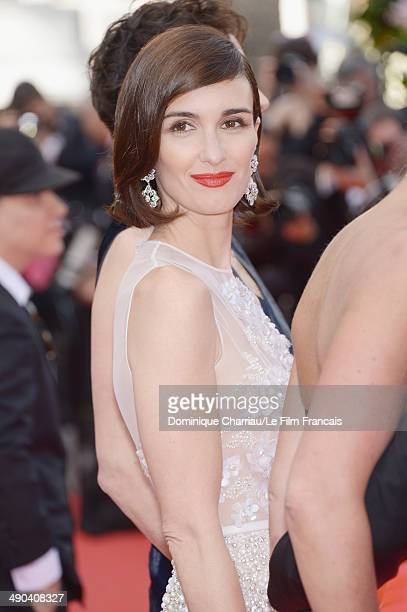 Actress Paz Vega attends the Opening Ceremony and the 'Grace of Monaco' premiere during the 67th Annual Cannes Film Festival on May 14 2014 in Cannes...