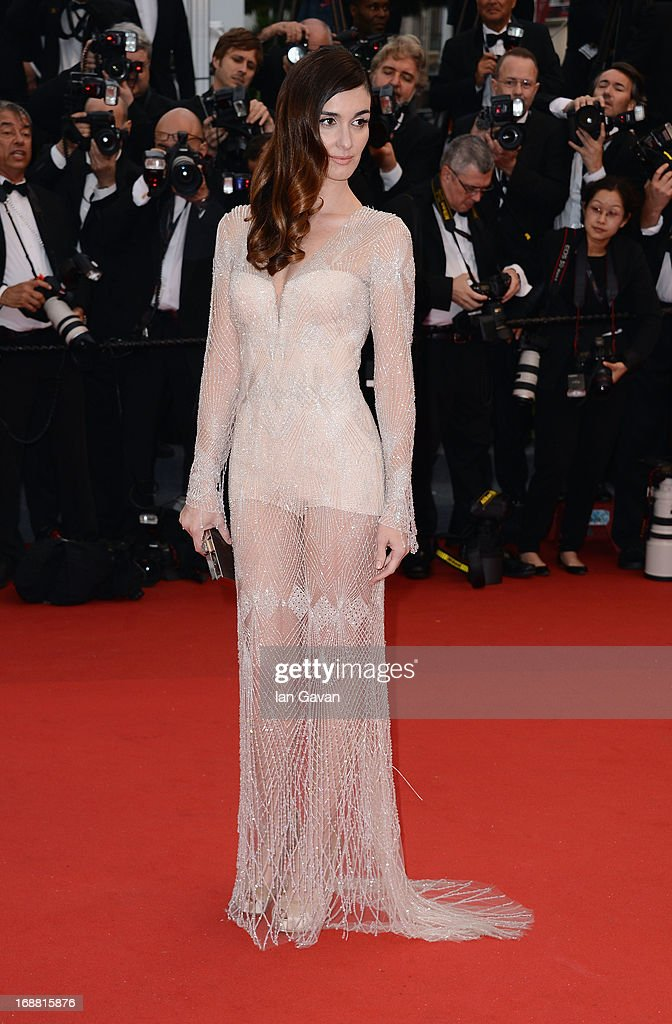 Actress Paz Vega attends the Opening Ceremony and 'The Great Gatsby' Premiere during the 66th Annual Cannes Film Festival at the Theatre Lumiere on May 15, 2013 in Cannes, France.