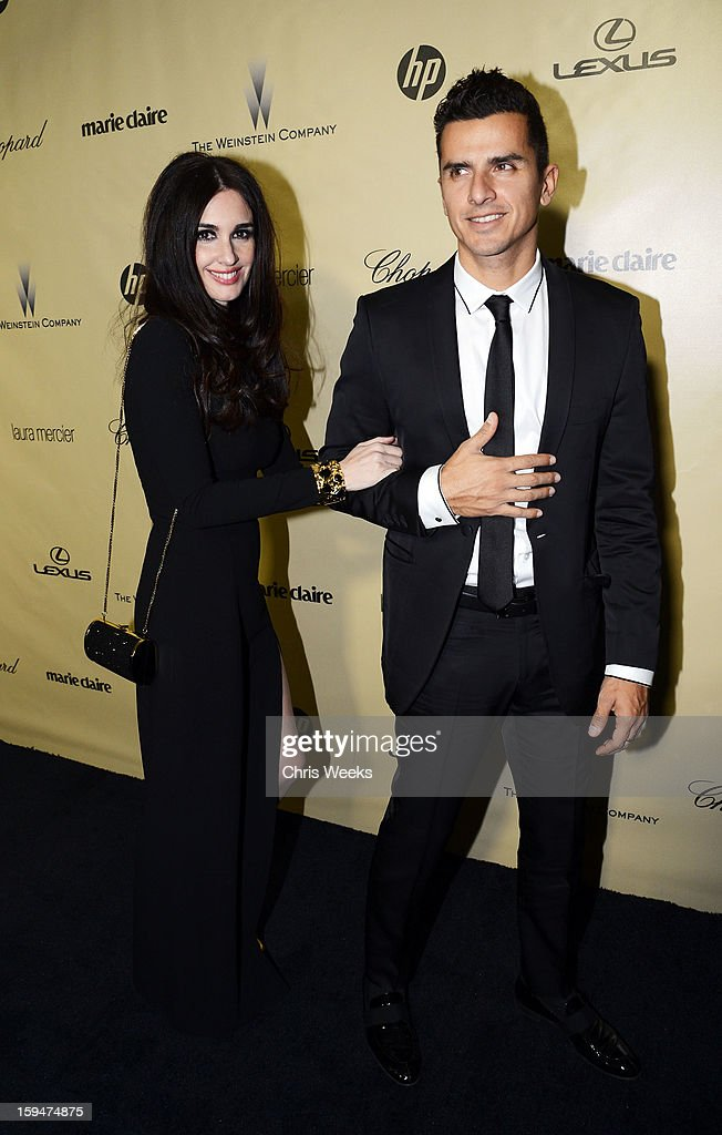 Actress Paz Vega (L) attends The Weinstein Company's 2013 Golden Globe Awards after party presented by Chopard, HP, Laura Mercier, Lexus, Marie Claire, and Yucaipa Films held at The Old Trader Vic's at The Beverly Hilton Hotel on January 13, 2013 in Beverly Hills, California.