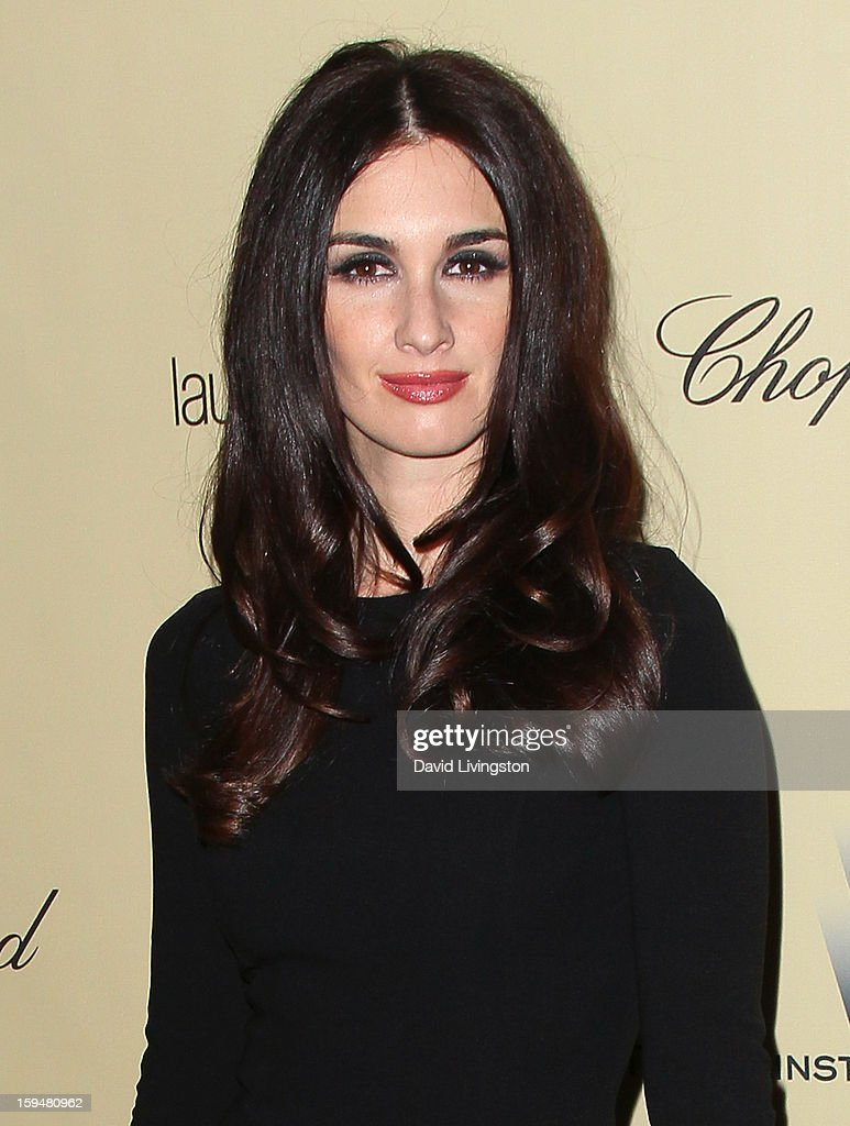 Actress Paz Vega attends The Weinstein Company's 2013 Golden Globe Awards After Party at The Beverly Hilton hotel on January 13, 2013 in Beverly Hills, California.