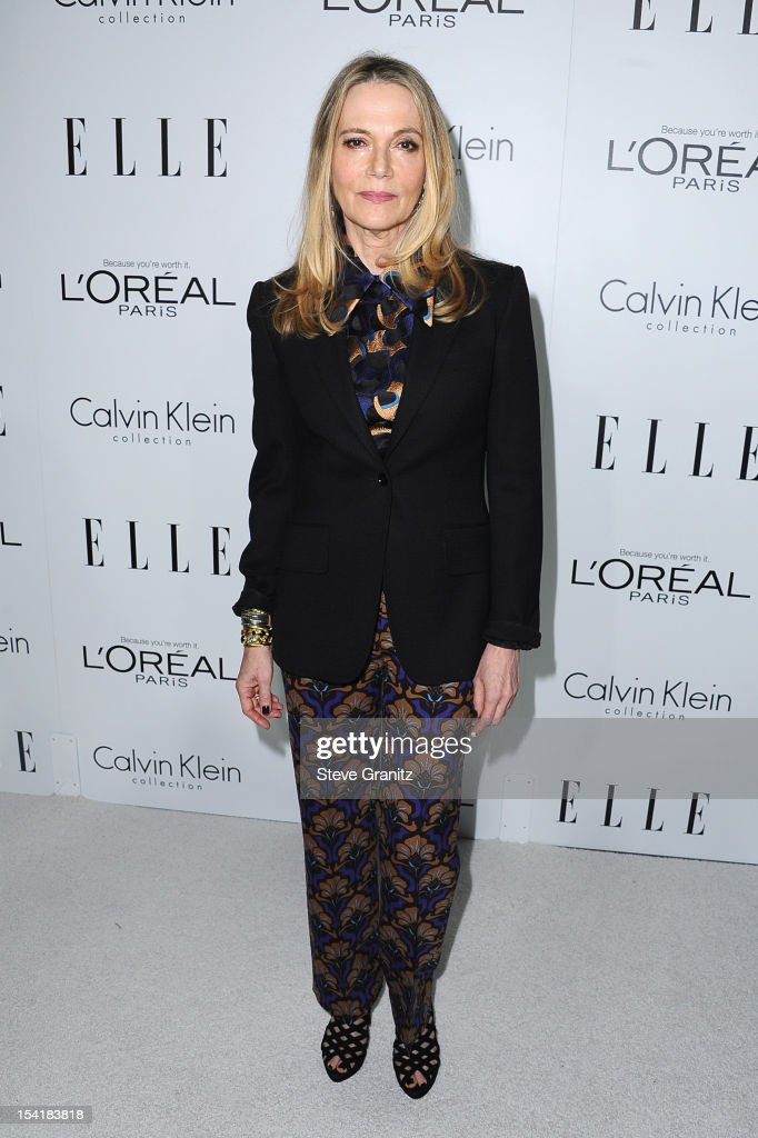 Actress Peggy Lipton arrives at ELLE's 19th Annual Women In Hollywood Celebration at the Four Seasons Hotel on October 15, 2012 in Beverly Hills, California.