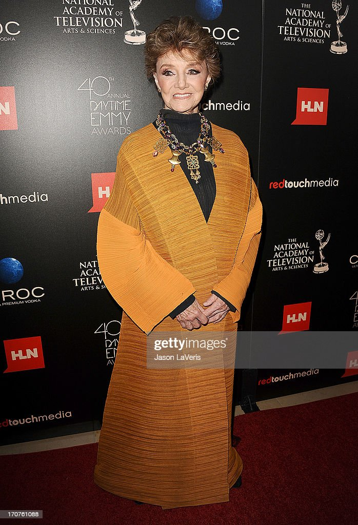 Actress Peggy McCay attends the 40th annual Daytime Emmy Awards at The Beverly Hilton Hotel on June 16, 2013 in Beverly Hills, California.