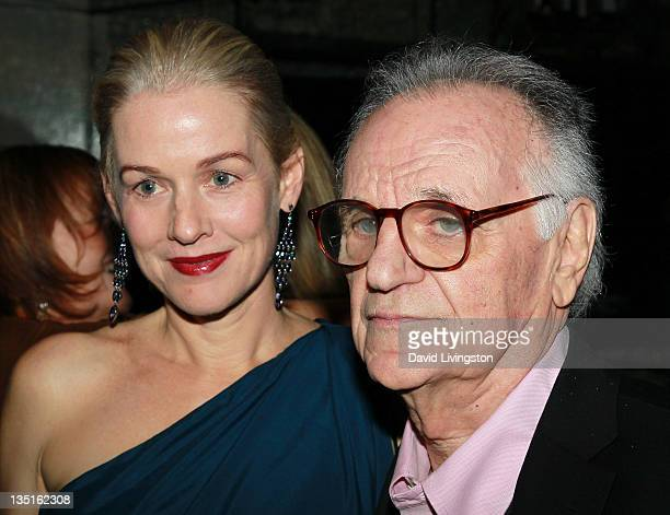 Actress Penelope Ann Miller and photographer Bert Stern attend Taschen's 'Norman Mailer Bert Stern Marilyn Monroe' book launch at Hotel BelAir on...