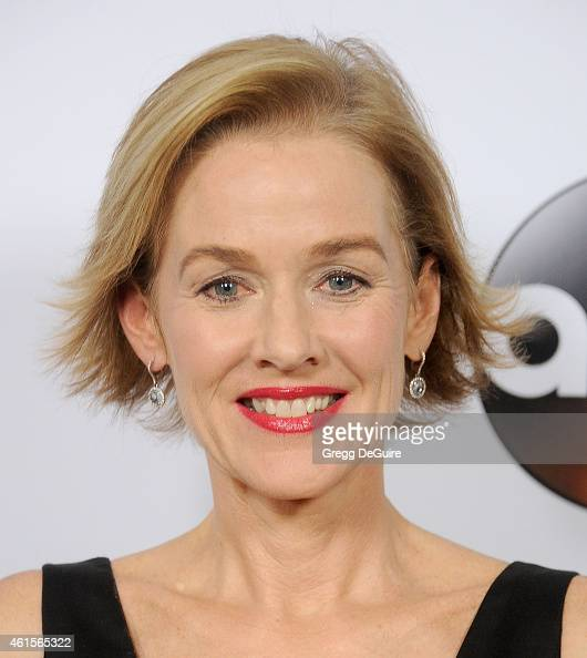 Actress Penelope Ann Miller arrives at Disney ABC Television Group's TCA Winter Press Tour on January 14 2015 in Pasadena California