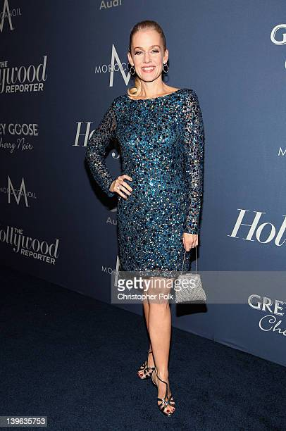 Actress Penelope Ann Miller arrives at The Hollywood Reporter's 'Nominees' Night 2012' A Celebration of the 84th Annual Academy Awards at the Getty...