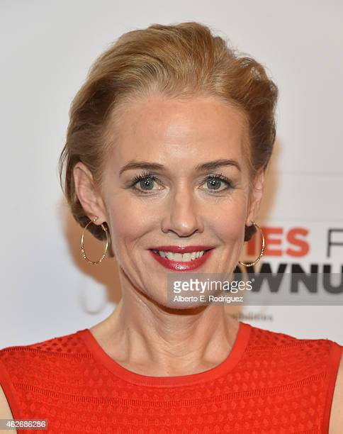 Actress Penelope Ann Miller arrives to AARP The Magazine's 14th Annual Movies For Grownups Awards Gala at the Beverly Wilshire Four Seasons Hotel on...