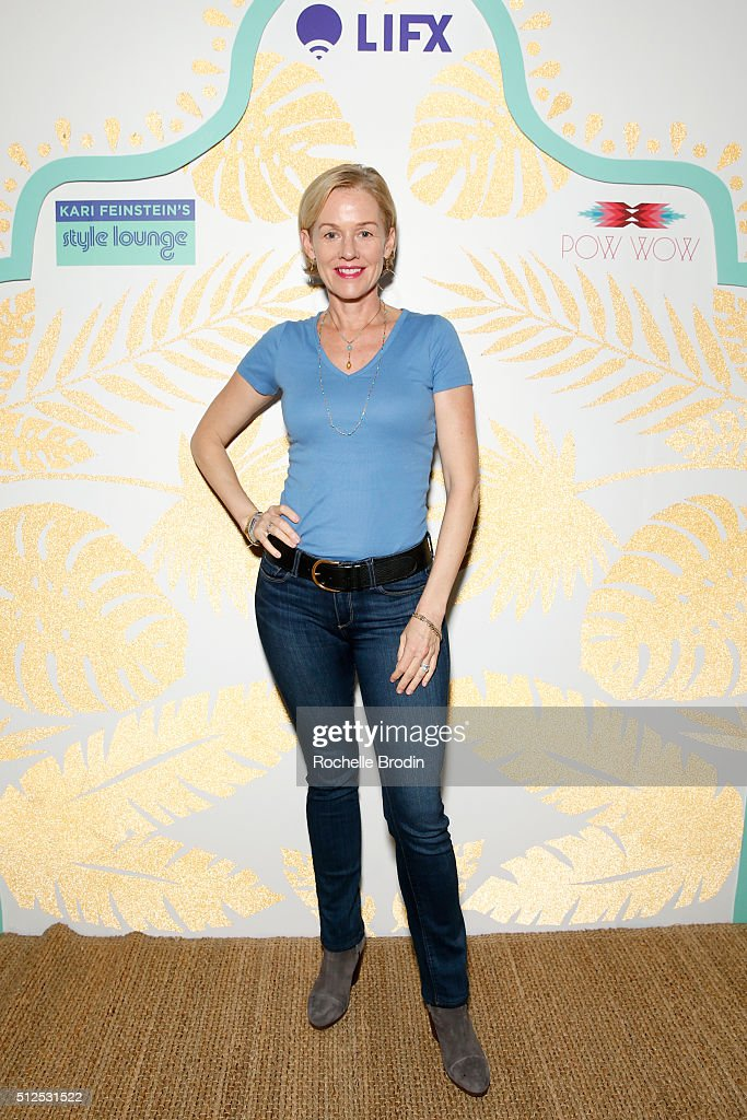Actress Penelope Ann Miller attends Kari Feinstein's Style Lounge presented by LIFX on February 26, 2016 in Los Angeles, California.