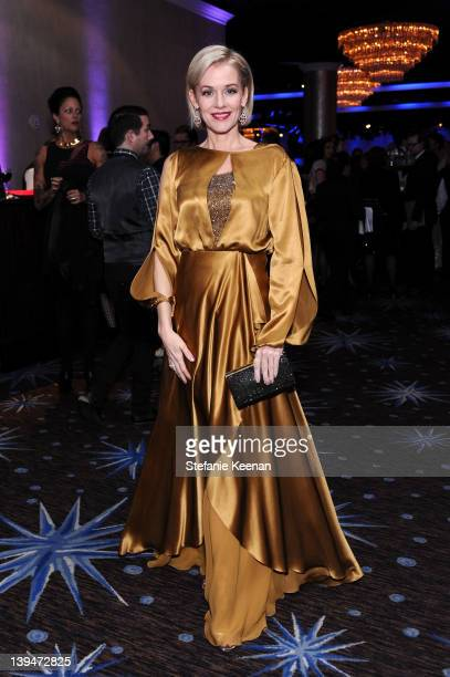 Actress Penelope Ann Miller attends the 14th Annual Costume Designers Guild Awards With Presenting Sponsor Lacoste held at The Beverly Hilton hotel...