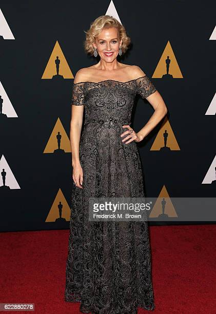 Actress Penelope Ann Miller attends the Academy of Motion Picture Arts and Sciences' 8th annual Governors Awards at The Ray Dolby Ballroom at...
