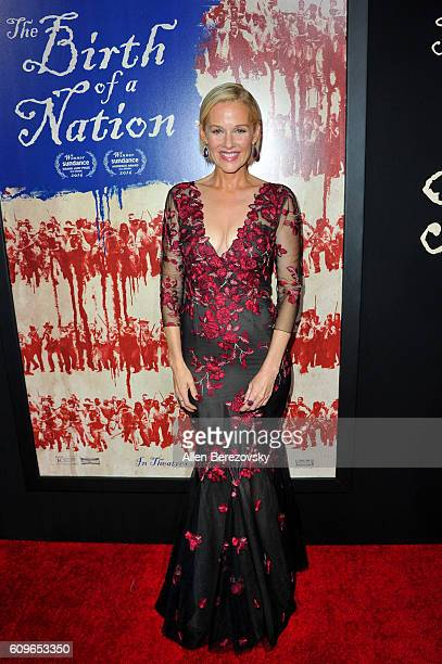 Actress Penelope Ann Miller attends the premiere of Fox Searchlight Pictures' 'The Birth of A Nation' at ArcLight Cinemas Cinerama Dome on September...