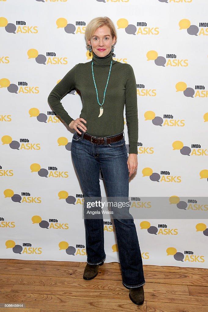 Actress Penelope Ann Miller in The IMDb Studio In Park City for 'IMDb Asks': Day Three - on January 24, 2016 in Park City, Utah.