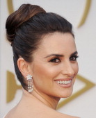 Actress Penelope Cruz arrives at the 86th Annual Academy Awards at Hollywood Highland Center on March 2 2014 in Hollywood California
