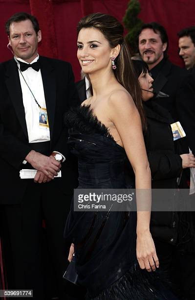 Actress Penelope Cruz arrives in a gown by CHANEL COUTURE and jewelry by CHOPARD at the 80th Academy Awards® held at the Kodak Theatre in Los Angeles