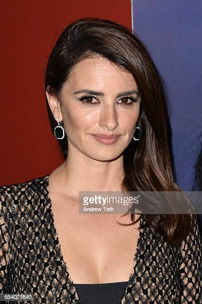 Actress Penelope Cruz attends a screening of Oscilloscope's 'ma ma' hosted by The Cinema Society and Chopard at Landmark Sunshine Cinema on May 24...
