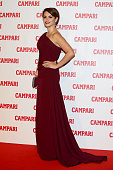 Actress Penelope Cruz attends the 2013 Campari Calendar unveiling cocktail party at the Campari Headquarters on November 13 2012 in Milan Italy