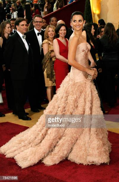 Actress Penelope Cruz attends the 79th Annual Academy Awards held at the Kodak Theatre on February 25 2007 in Hollywood California