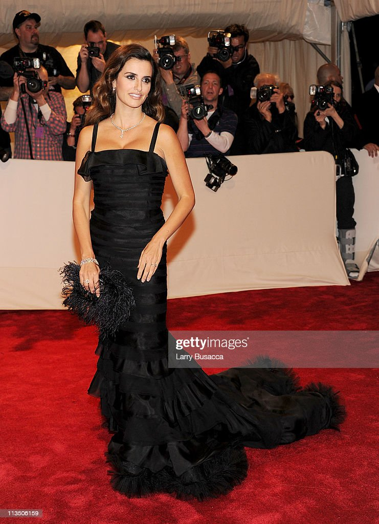 Actress Penelope Cruz attends the 'Alexander McQueen: Savage Beauty' Costume Institute Gala at The Metropolitan Museum of Art on May 2, 2011 in New York City.