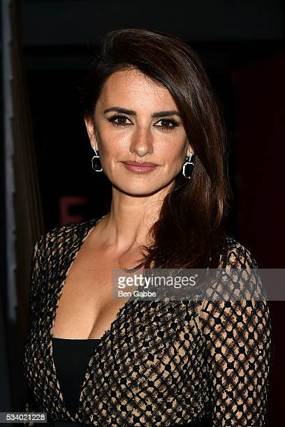 Actress Penelope Cruz attends The Cinema Society and Chopard screening of Oscilloscope's 'ma ma' at Landmark Sunshine Cinema on May 24 2016 in New...
