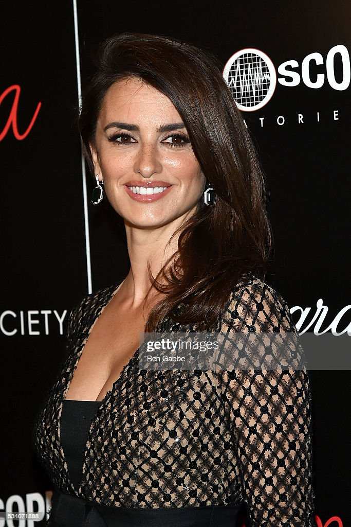 Actress Penelope Cruz attends The Cinema Society and Chopard screening of Oscilloscope's 'ma ma' - Arrivals at Landmark Sunshine Cinema on May 24, 2016 in New York City.