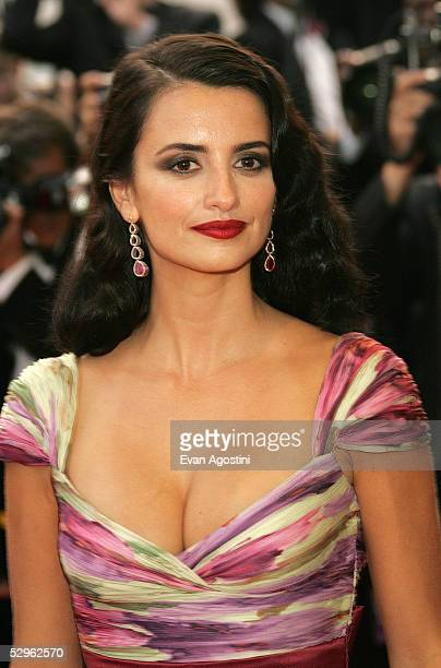 Actress Penelope Cruz attends the Closing Ceremony and premiere of 'Chromophobia' at the Palais during the 58th International Cannes Film Festival...