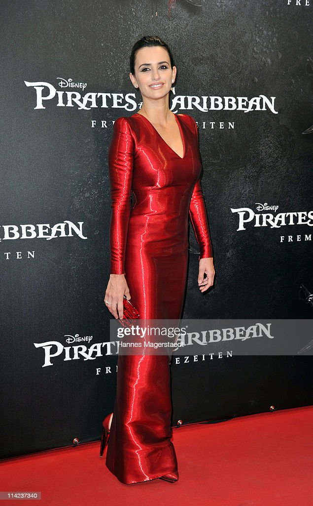 Actress Penelope Cruz attends the Germany Premiere of 'Pirates Of The Caribbean: On Stranger Tides' at the Mathaeser Filmpalast on May 16, 2011 in Munich, Germany.