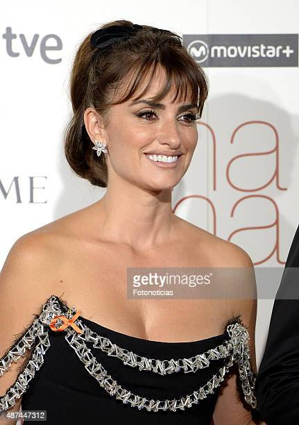 Actress Penelope Cruz attends the 'Ma Ma' Premiere at the Capitol Cinema on September 9 2015 in Madrid Spain