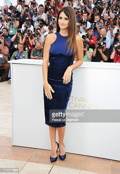 Actress Penelope Cruz attends the 'Pirates of the Caribbean On Stranger Tides' photocall at the Palais des Festivals during the 64th Cannes Film...