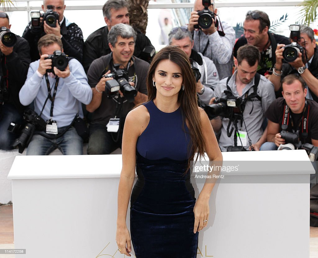 Actress Penelope Cruz attends the 'Pirates of the Caribbean: On Stranger Tides' photocall at the Palais des Festivals during the 64th Cannes Film Festival on May 14, 2011 in Cannes, France.
