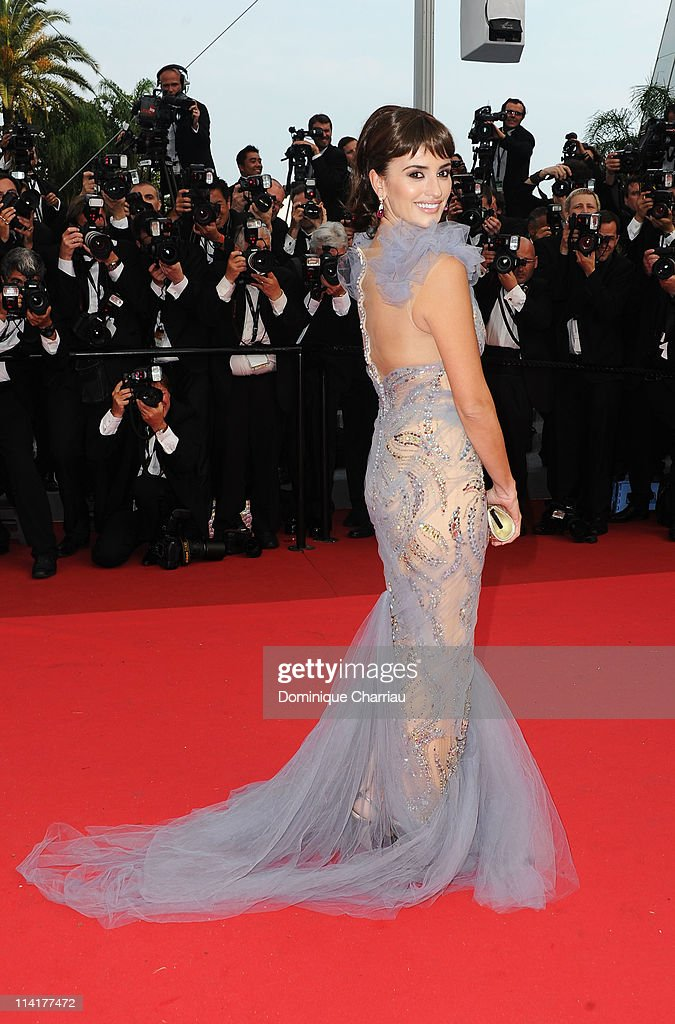 Actress Penelope Cruz attends the 'Pirates of the Caribbean On Stranger Tides' Premiere during the 64th Annual Cannes Film Festival at Palais des...