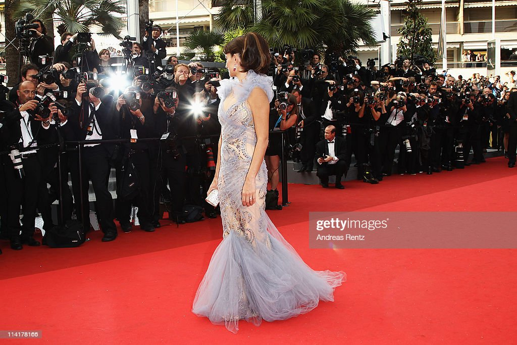 Actress Penelope Cruz attends the 'Pirates of the Caribbean: On Stranger Tides' premiere at the Palais des Festivals during the 64th Cannes Film Festival on May 14, 2011 in Cannes, France.