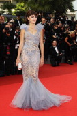 Actress Penelope Cruz attends the 'Pirates of the Caribbean On Stranger Tides' premiere at the Palais des Festivals during the 64th Cannes Film...