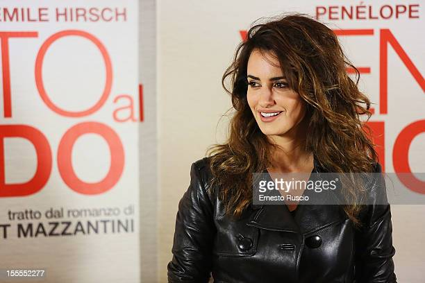 Actress Penelope Cruz attends the 'Venuto Al Mondo' photocall at ST Regis on November 5 2012 in Rome Italy