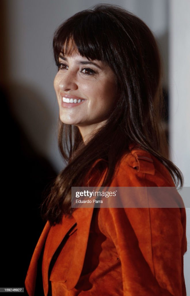 Actress <a gi-track='captionPersonalityLinkClicked' href=/galleries/search?phrase=Penelope+Cruz&family=editorial&specificpeople=171775 ng-click='$event.stopPropagation()'>Penelope Cruz</a> attends 'Venuto al mondo' ('Volver a nacer') photocall at Santo Mauro hotel on January 10, 2013 in Madrid, Spain.