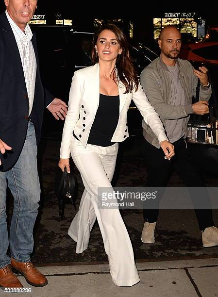 Actress Penelope Cruz is seen walking in Soho on May 23 2016 in New York City