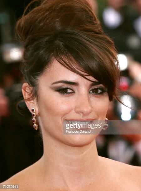 Actress Penelope Cruz winner Best Supporting Actress Award attends the 59th International Cannes Film Festival Closing Dinner during the 59th...