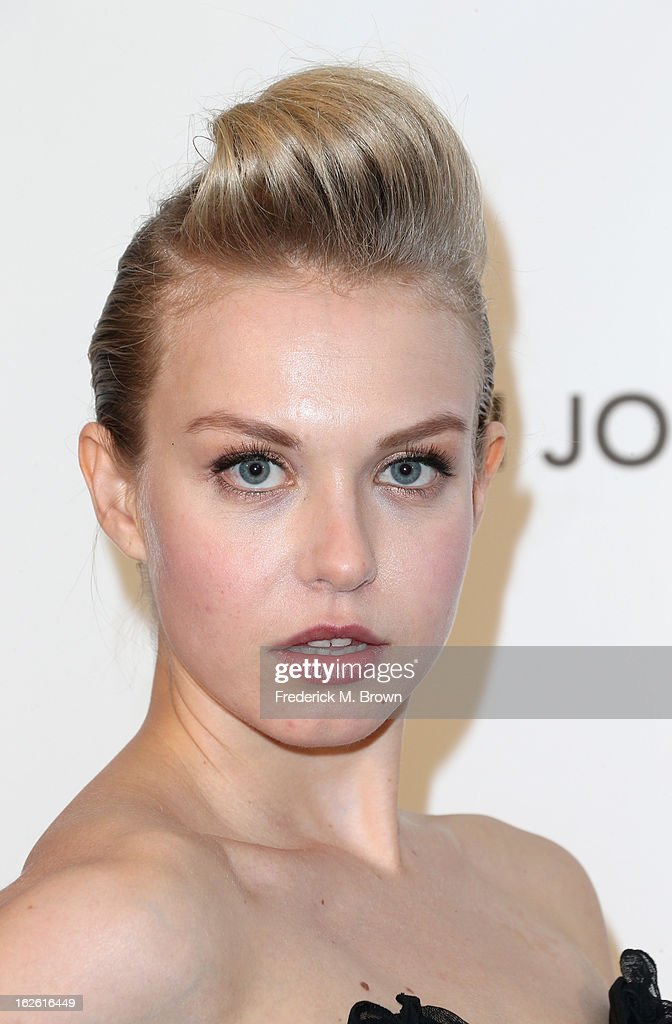 Actress Penelope Mitchell arrives at the 21st Annual Elton John AIDS Foundation's Oscar Viewing Party on February 24, 2013 in Los Angeles, California.