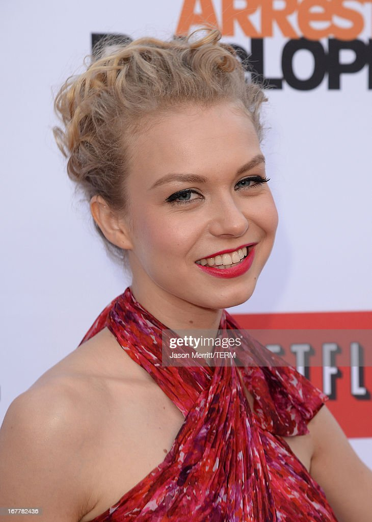 Actress Penelope Mitchell arrives at the TCL Chinese Theatre for the premiere of Netflix's 'Arrested Development' Season 4 held on April 29, 2013 in Hollywood, California.
