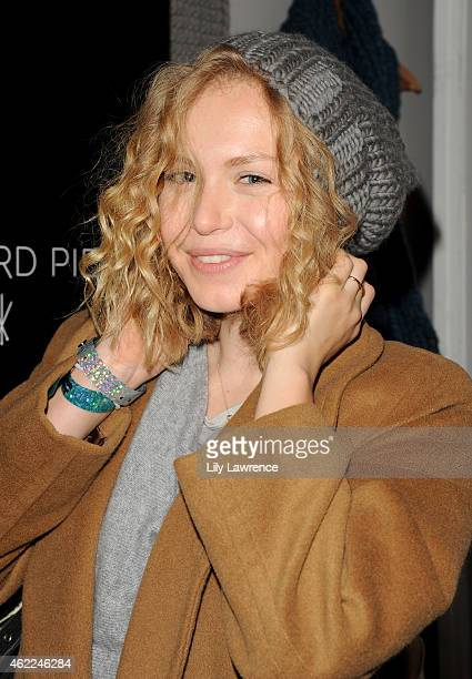 Actress Penelope Mitchell attends Kari Feinstein's Style Lounge Presented By Aruba Day 3 on January 25 2015 in Park City Utah